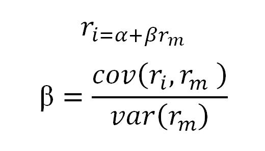 فرمول محاسبه ضریب بتا